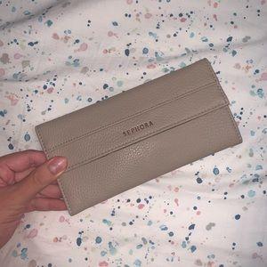 Sephora- Brown/ Tan Eye Brush Bag